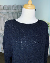 Load image into Gallery viewer, Bounce Around Popcorn Sweater - Black - Curvy Exclusive