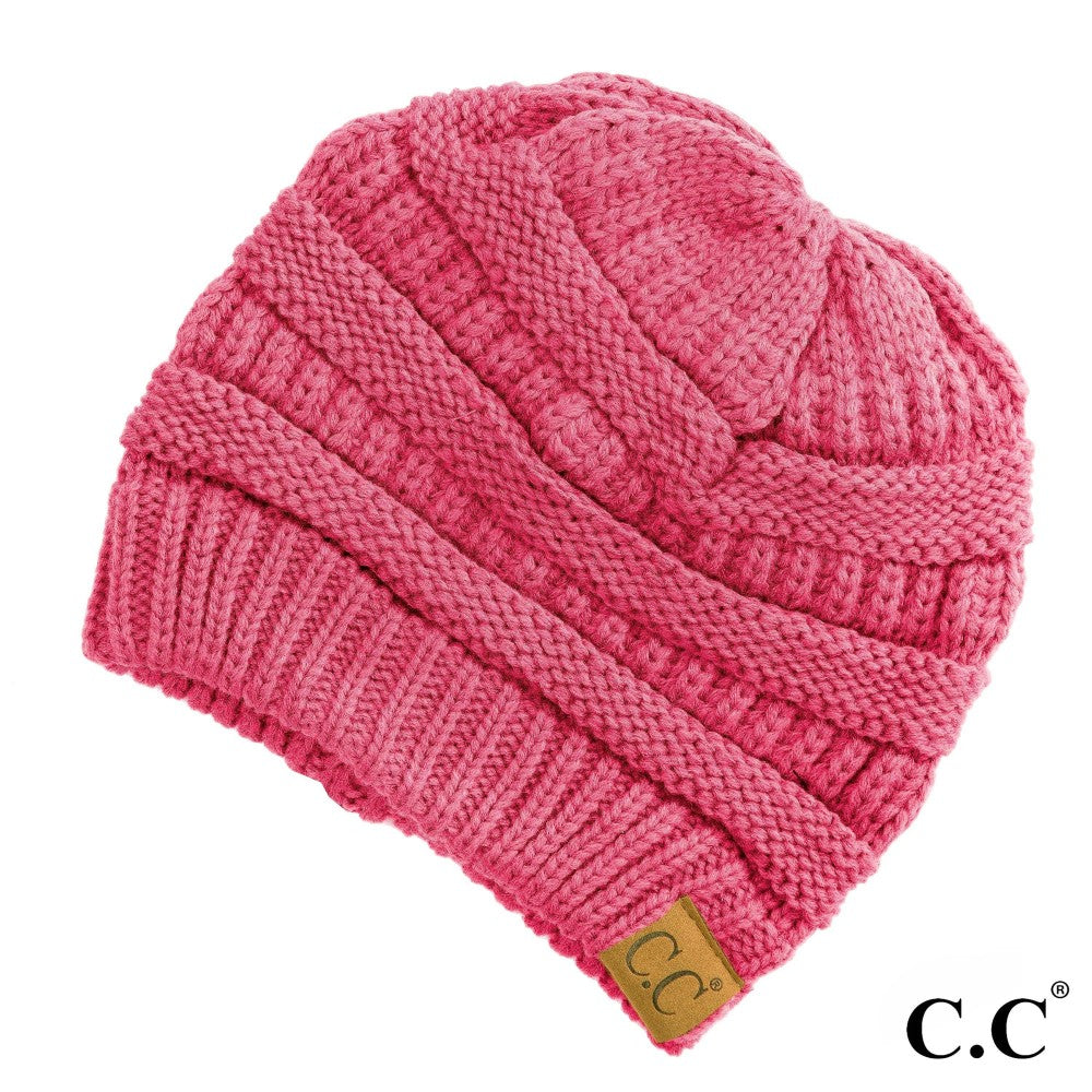 CC Solid Classic Beanie - New Candy Pink