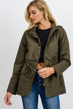 Load image into Gallery viewer, On Point Anorak Jacket - Olive