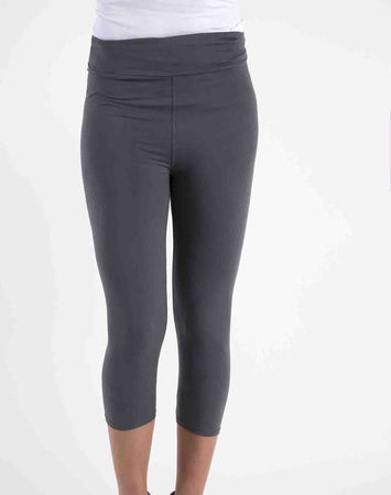 Perfect Fit Capri Leggings - Charcoal