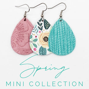 Pink Suede Itty Bitty - Spring Mini Collection