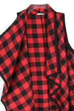 Load image into Gallery viewer, Feel The Same Buffalo Plaid Vest