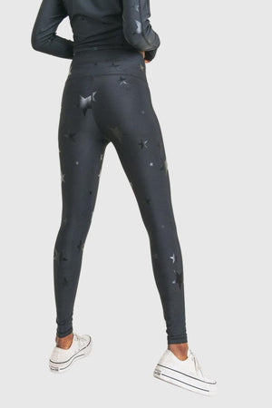 Star In You Foiled Leggings