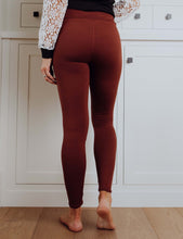 Load image into Gallery viewer, Perfect Fit Leggings - Brown