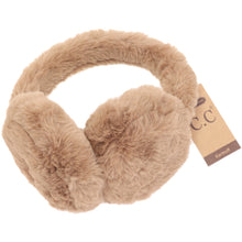 Load image into Gallery viewer, CC Faux Fur CC Earmuff - Taupe