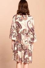 Load image into Gallery viewer, Radiant Beauty Paisley Dress