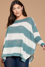 Load image into Gallery viewer, Excited to See You Poncho Top - Teal