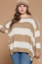 Load image into Gallery viewer, Excited to See You Poncho Top - Taupe