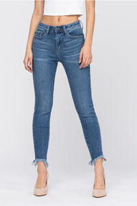 Judy Blue Non Distressed Shark Bite Skinnies
