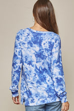 Load image into Gallery viewer, Lovely Afternoon Tie Dye Pullover - Navy