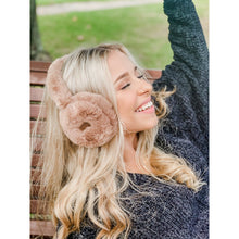 Load image into Gallery viewer, CC Faux Fur CC Earmuff - Rust