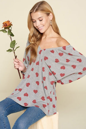 Hearts Full of Love Blouse