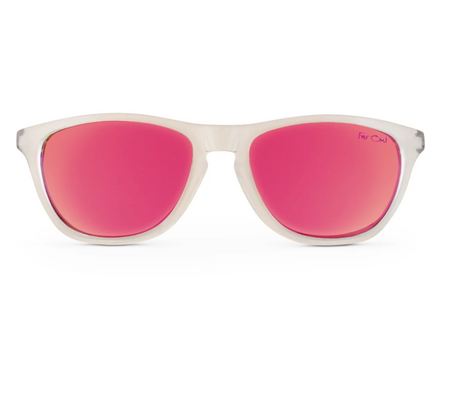 FarOut Sunglasses - Clear Polarized Premiums Pink Lens