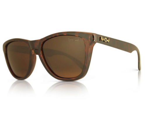 FarOut Sunglasses - Tortoise Brown Polarized Premiums Amber Lens