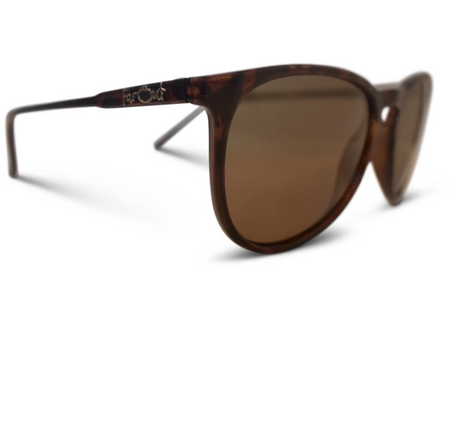 FarOut Sunglasses - Tortoise Brown Polarized Rounder Amber Lens