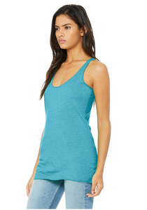 Bella Canvas Women's Racerback Tank - Aqua Triblend