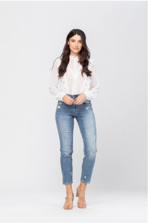 Judy Blue Double Waistband Jeans