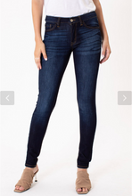 Load image into Gallery viewer, KanCan Mid Rise Basic Skinny Jean