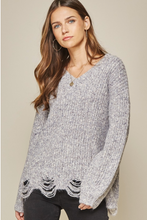 Load image into Gallery viewer, Keep On Smiling Sweater - Purple
