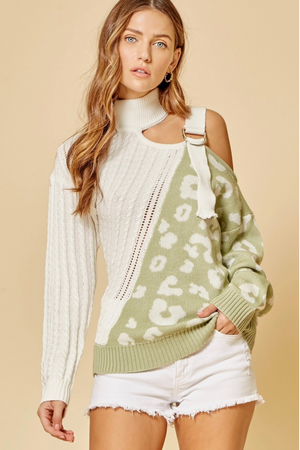 Take A Leap Leopard Sweater