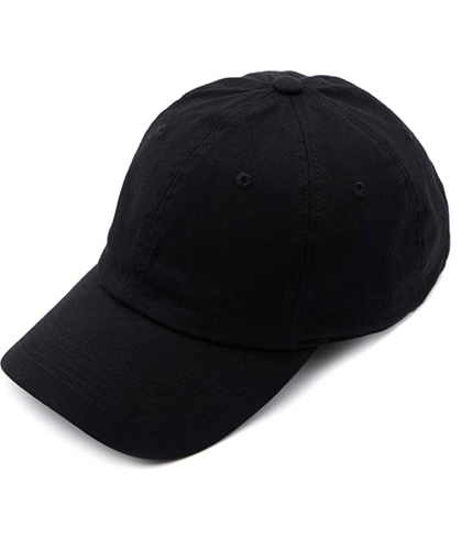 CC Brand - Cotton Classic Ball Cap - Black