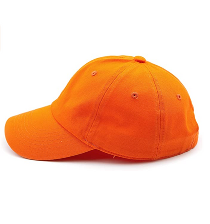 CC Brand - Cotton Classic Ball Cap - Orange