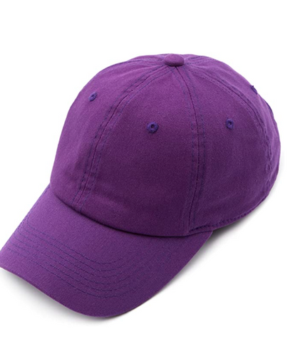 CC Brand - Cotton Classic Ball Cap - Purple