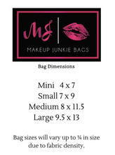 Load image into Gallery viewer, Makeup Junkie Bag The Bridal Bag