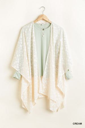 Floating Away Kimono - Cream
