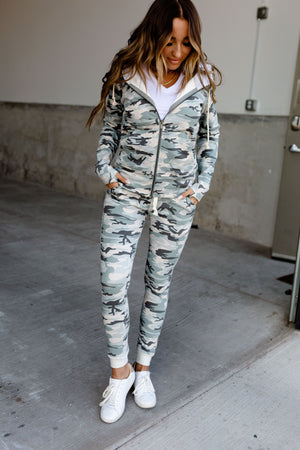 Ampersand Avenue Jogger - Light Camo