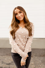 Load image into Gallery viewer, Ampersand Avenue Sweater - The Taylor - Nude