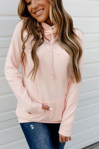 Ampersand Avenue Basic Doublehood™ Sweatshirt Rose Quartz