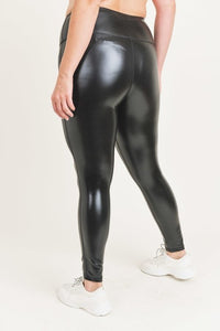 Glossy Liquid - Highwaist Leggings