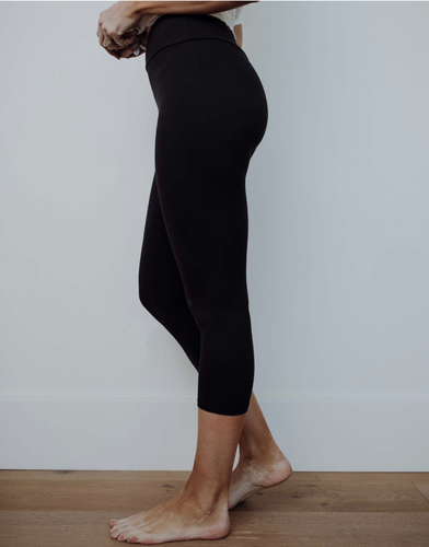 Perfect Fit Capri Leggings - Black