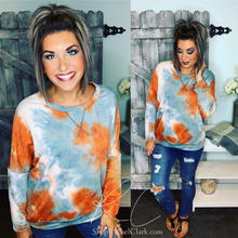Load image into Gallery viewer, Saturday Snuggles Sweatshirt - Rust