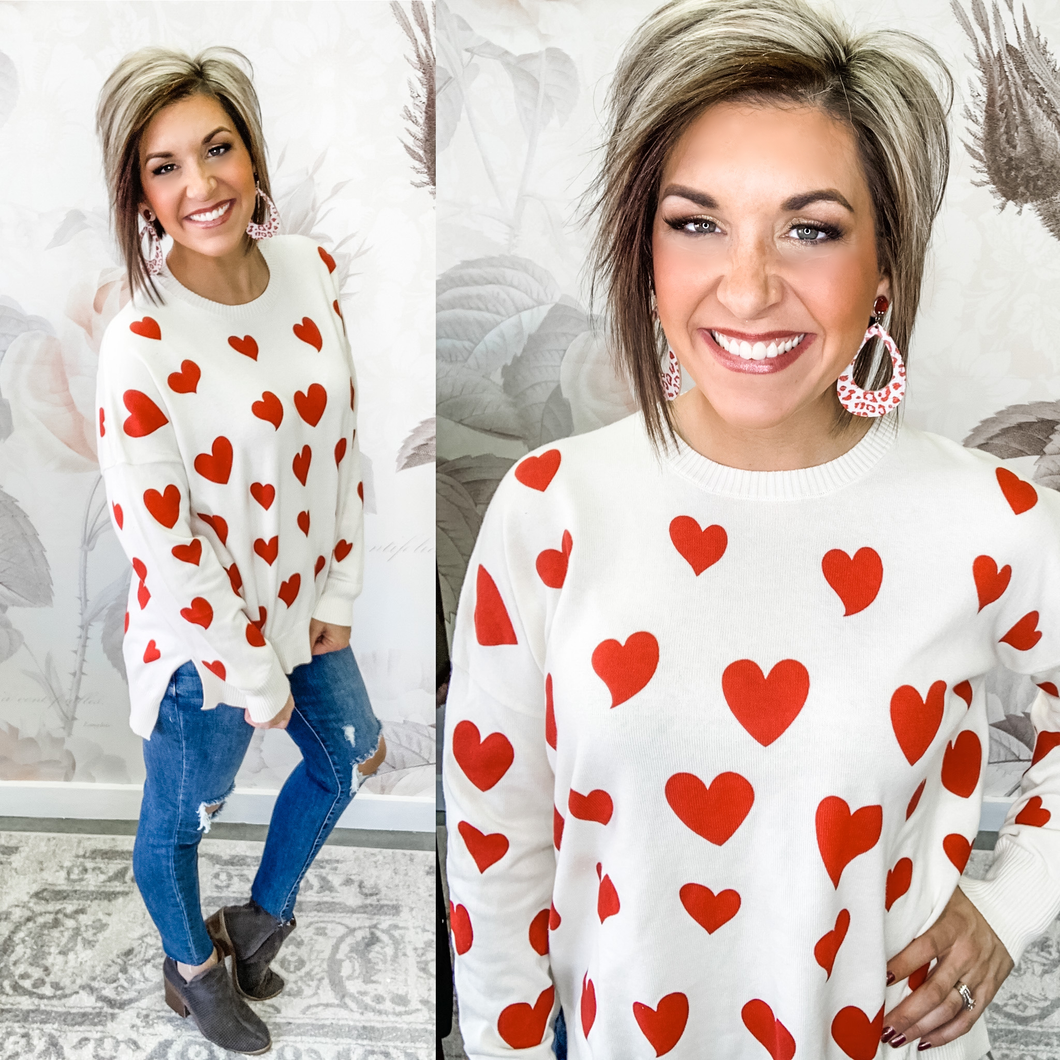 Pulled At My Heart Sweater