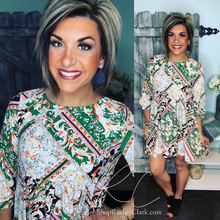 Load image into Gallery viewer, My Best Wish Print Dress