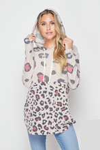 Load image into Gallery viewer, Never Run Away Leopard Hoodie