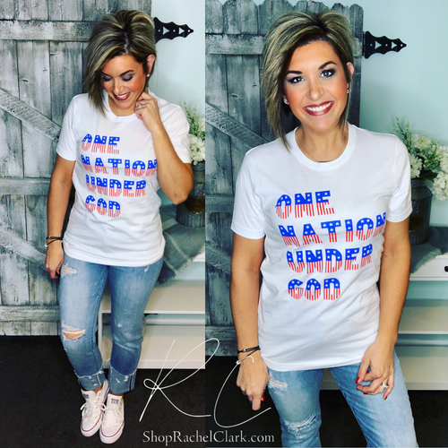 One Nation Under God Graphic Tee