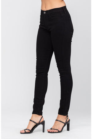 Judy Blue Black High Waist Skinny