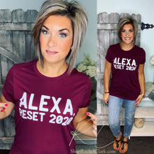 Load image into Gallery viewer, Alexa! Reset 2020! Graphic Tee