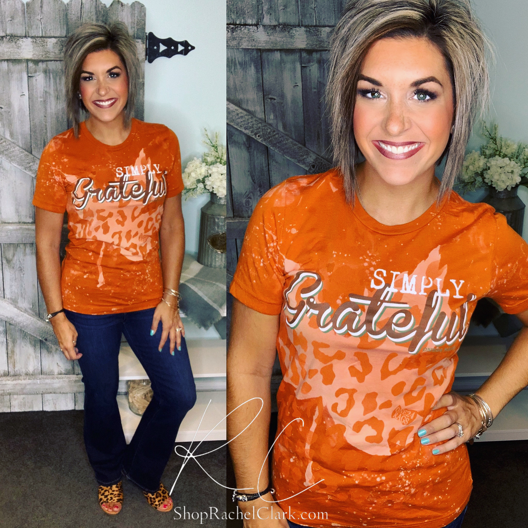 Simply Grateful Graphic Tee