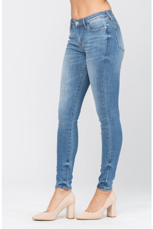 Judy Blue Pin-Tacked Skinnies