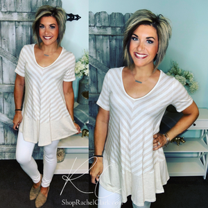 Fondest Memories Striped Tunic