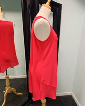 Load image into Gallery viewer, Precious Heart Asymmetric Tank - Hot Coral