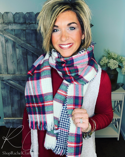 Split Ends Classic Blanket Scarf
