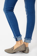 Load image into Gallery viewer, KanCan Mid Rise Cuffed Ankle Skinny