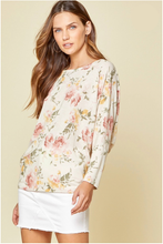 Load image into Gallery viewer, Smooth Talker Floral Dolman Top