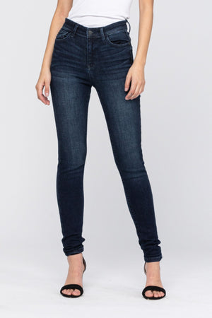 Judy Blue High Waist Dark Skinny Jeans