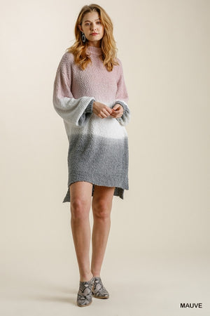 Fading Into You Sweater Dress